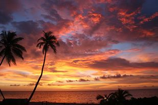 Belizean Sunrise