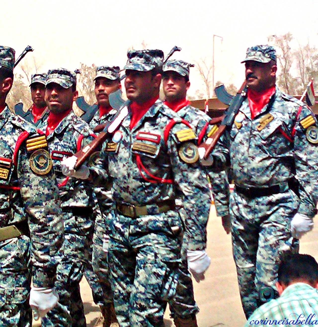 Iraq Federal Police Training Academy – Graduation day parade